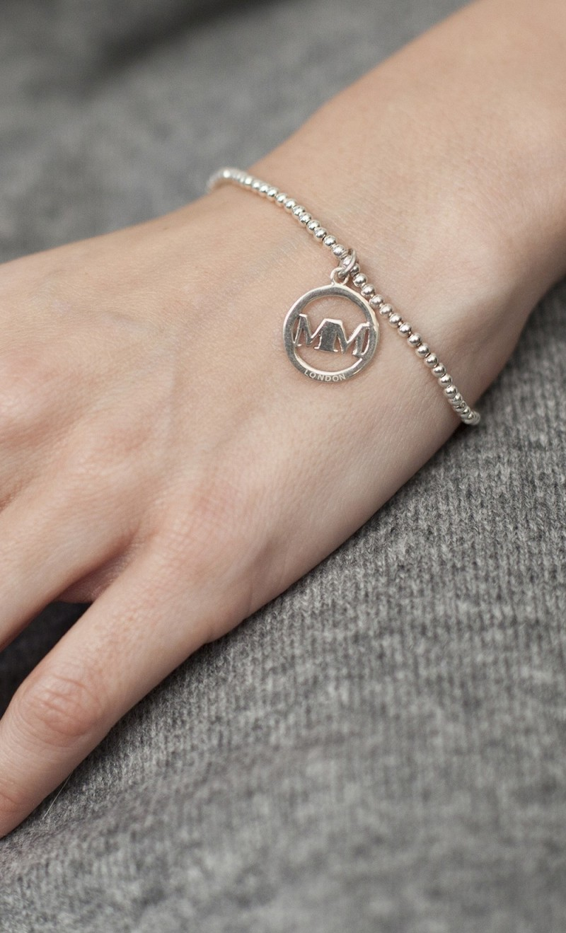 Sterling silver disc
